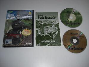 Microsoft TRAIN SIMULATOR base game Pc Cd Rom nts - MSTS - FAST POST