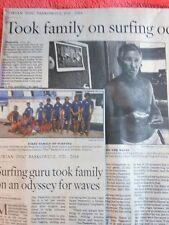 1921-2014 DORIAN DOC PASKOWITZ OBITUARY SURFING GURU FAMILY ON SURFING ODYSSEY