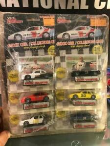 1989 (Flat Bottoms) RACING CHAMPIONS FIRST 6 CAR SET