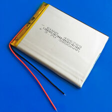 3.7v 3800mAh Li po Rechargeable Battery for Laptop Power Bank PAD DVD MID 486789