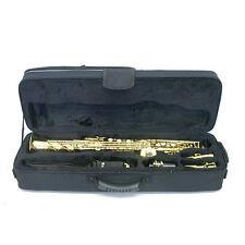 **GREAT GIFT** Straight Soprano Saxophone Case/Backpack/Shoulder Straps/Handles
