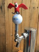 Corona Golf Tap Handle Mexican Beer Margaritaville Red Parrothead Jimmy Buffett