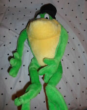 "Looney Tunes Michigan J Frog 17"" Tophat Plush Soft Toy Stuffed Animal"