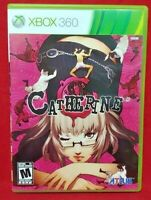 Catherine - ATLUS - Microsoft Xbox 360 Rare Game NEAR MINT Complete 1 Owner