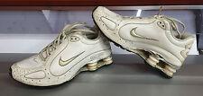 Scarpe donna Nike Shox bianche pelle EU 38 US 5,5Y