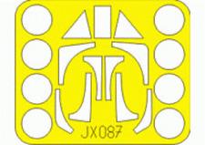 EDUARD JX087 Masking Sheet for Pacific Coast Kit Ta152H in 1:32