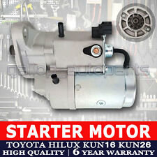 Toyota Starter Motor Hilux KUN16 KUN26 3.0L Diesel Turbo (1KD-FTV) D-4D 05-14