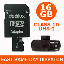 16GB TF Flash Micro SD SDHC  Memory Card for Nextbase Dash Cam In Car Camera C10