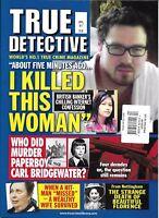 True Detective Magazine British Banker Confession Bridgewater Paperboy Florence