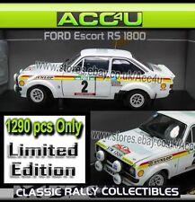 Ford Escort RS 1800 2nd Rallye De Portugal 1977 1:18 Limited Edition Model Car