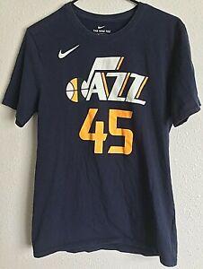 Donovan Mitchell Men's M Nike Jersey Tee Utah Jazz Sunset Cap Travel Mug Lot 3