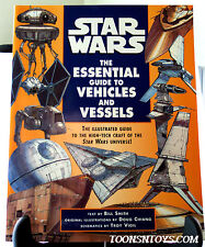 Star Wars: The Essential Guide to Vehicles and Vessels Softcover 1996 Book