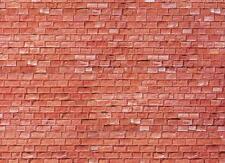 Faller 170613 H0 Placa de Pared Arenisca Rojo 25x12, 5cm 1qm =