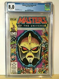 Masters Of The Universe #4 CGC 8.0 25th Anniversary Cover VF Marvel He-Man MOTU