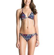 Side Tie Swimwear ROXY Plus Size Bikini Sets for Women