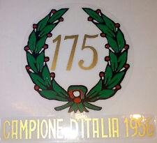 ADESIVO ORIGINALE MONDIAL 175 ALLORO dal 1956 IN POI DECAL STICKERS MOTOR BIKE
