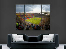 NOU CAMP POSTER CAMP NOU BARCELONA FC FOOTBALL ART WALL LARGE IMAGE GIANT