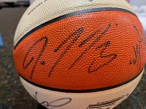 GAME USED WNBA OFFICIAL PHX MERCURY AUTOGRAPHED TEAM BALL! TAURASI,PONDEXTER