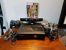 Xbox 360 S Console 250gb HDD Model 1439 with Kinect and Kinect Adventures NTSC