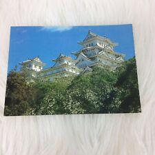 Japan Himeji Castle Postcard Japan Air Lines JAL  Hyogo Unposted