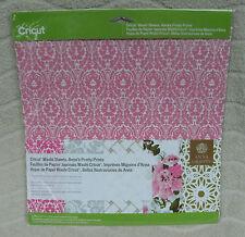 "Cricut Washi Sheets, Anna's Pretty Prints (5)- 12"" x 12"" Sheets ~ NEW"