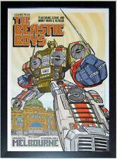 Beastie Boys Original 2005 Tour Poster By Rhys Cooper Custom Framed 20X30
