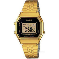 CASIO VINTAGE LA680WGA-1D GOLD PLATED WATCH FOR MEN AND WOMEN - COD + FREE SHIP