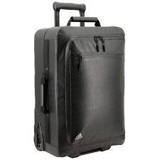 NEW Adidas Premium Overhead Wheel Travel Bag Suitcase Black BG8597