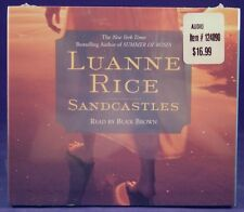 Brand New Sandcastles by Luanne Rice Audiobook Factory Sealed