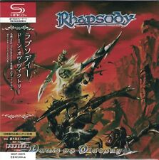 Rhapsody-dawn Of Victory -japan Mini LP Shm-cd F83