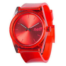 Neff Men's Unisex Daily Rave Watch Red digital water resistant unisex timepiece