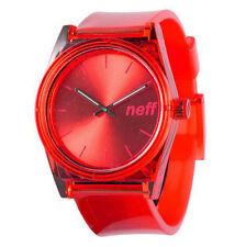 Neff Men's Unisex Daily Rave Watch Red digital water resistant unisex timepiece