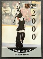 "Wayne Gretzky 1990-91 Pro Set Hockey #703 ""The 2000th Point"" ERROR"