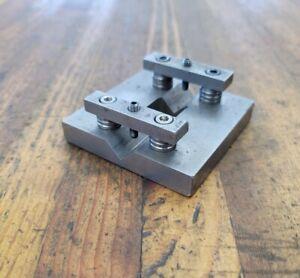 Machinist Tools DOUBLE CLAMP V-Block Setup Parallel Blocks Plates ☆USA