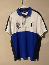 Polo Ralph Lauren Rugby Polo Shirt sz XXL Navy Blue Big Pony RL
