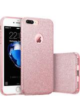 COVER Custodia Glitter Morbida Silicone GEL per Apple iPhone 6 e 6S PLUS Rosa