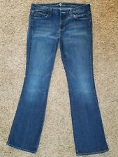 SEVEN FOR ALL MANKIND womens A Pocket Bootcut jeans size- 30 - 32 x 33 -- 7