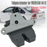 Tailgate Boot Lid Lock Latch Trunk Actuator For Volvo S40 II V50 04-12  n