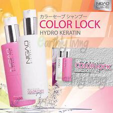 Nigao Japan Color Lock Refresh Shampoo Conditioner Keratin Colored Hair SLS Free