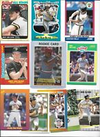 Andy Van Slyke Pirates Lot of (15) Different w/ 1984 Donruss Rookie #83 Mint