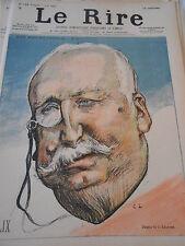 1897 Original Print Caricature Félix dessin de Léandre