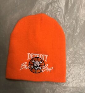 DETROIT PISTONS BAD BOYS WINTER BEANIE HAT BRAND NEW WITH TAGS