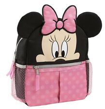 Nwt Disney Baby Minnie Mouse Harness Backpack and Charm Bracelet Set