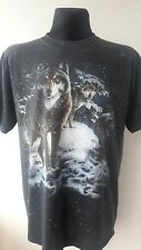 Vintage 3D Emblem T Shirt