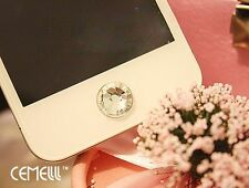 Bling Diamond Crystal Home Button Sticker For iPhone iTouch iPad 4 4S A-zs
