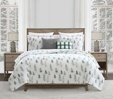 Mainstays ALPINE Tree 3-Piece Comforter Set w/2 BONUS Dec Pillows Full/Queen