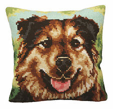 Collection D'Art Cross Stitch Cushion Kit; Boulie CD5158