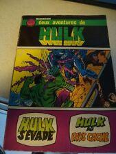 GAMMA HULK ALBUM 24/ NUMEROS 8-9 MARVEL EDITION AREDIT COMICS 04/1980 (1728)