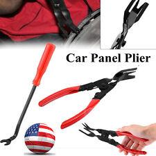 2Pcs/Set Upholstery Trim Clip Car Door Removal Pliers Dash Panel Moulding Tool