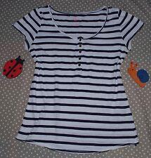 ✿❀ Haut top t-shirt marinière stretch femme ✿❀ KIABI ✿❀ Taille S 36/38